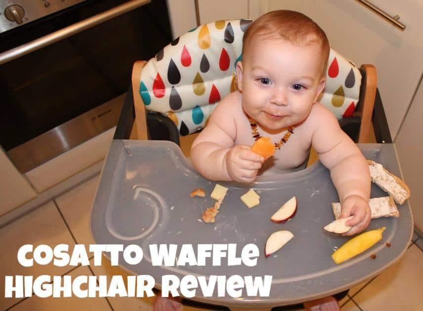 Cosatto waffle highchair