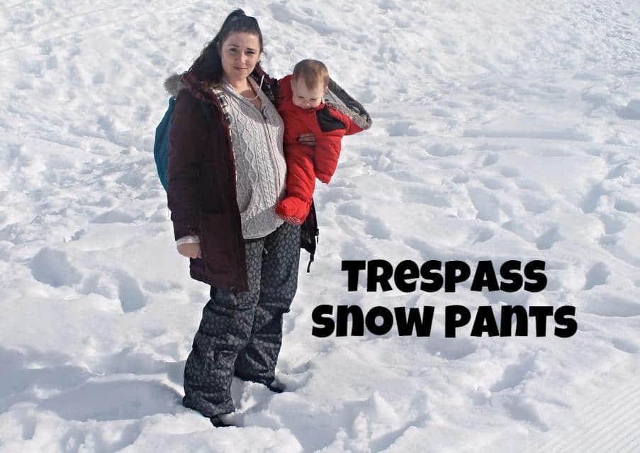 trespass snow pants