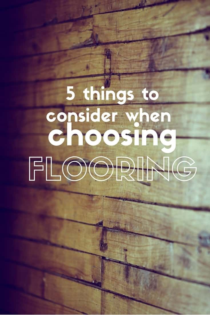 5 things to consider when