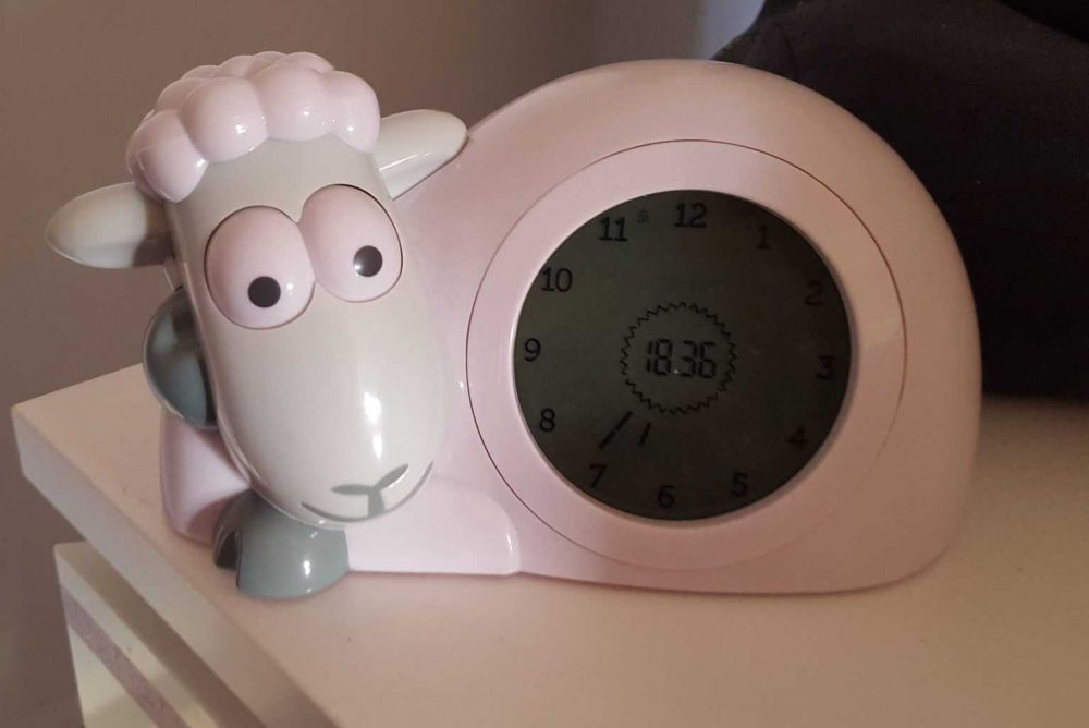 sam sleep trainer clock