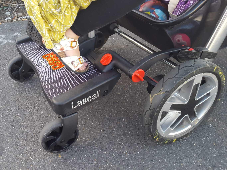 lascal buggy board maxi saddle