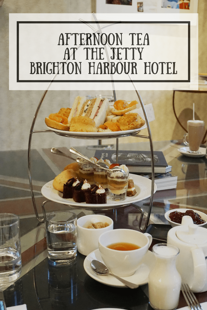 Afternoon tea at The Jetty, in Brighton's Harbour Hotel