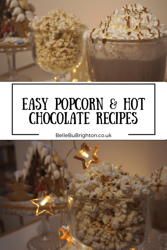 easy popcorn hot chocolate recipes