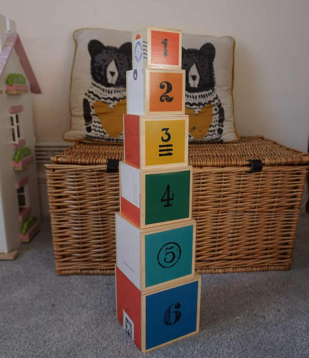 Rockin Baby wooden stacking blocks
