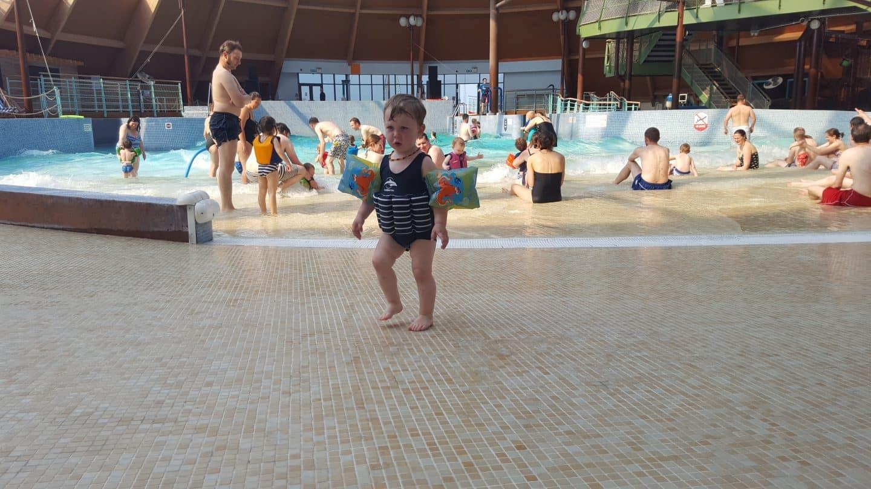 Bluelagoon swimming pool at Bluestone Wales