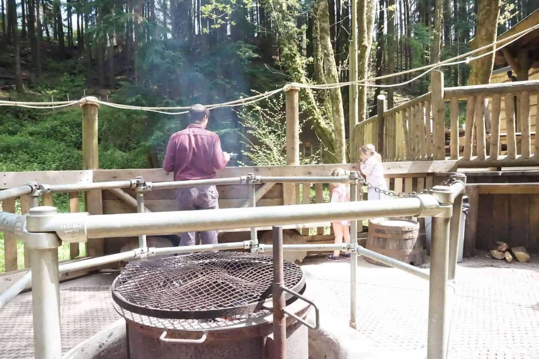 Camp Snokey at Bluestone Wales