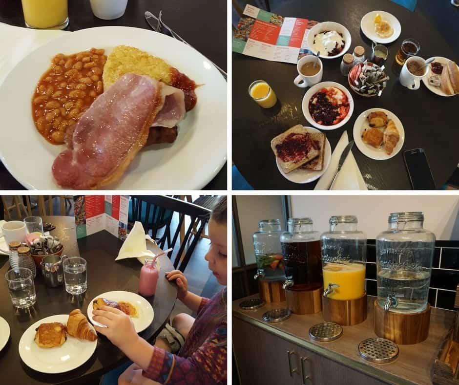 Jurys Inn Brighton Breakfast