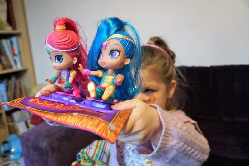 shimmer and shine magical flying carpet toy review