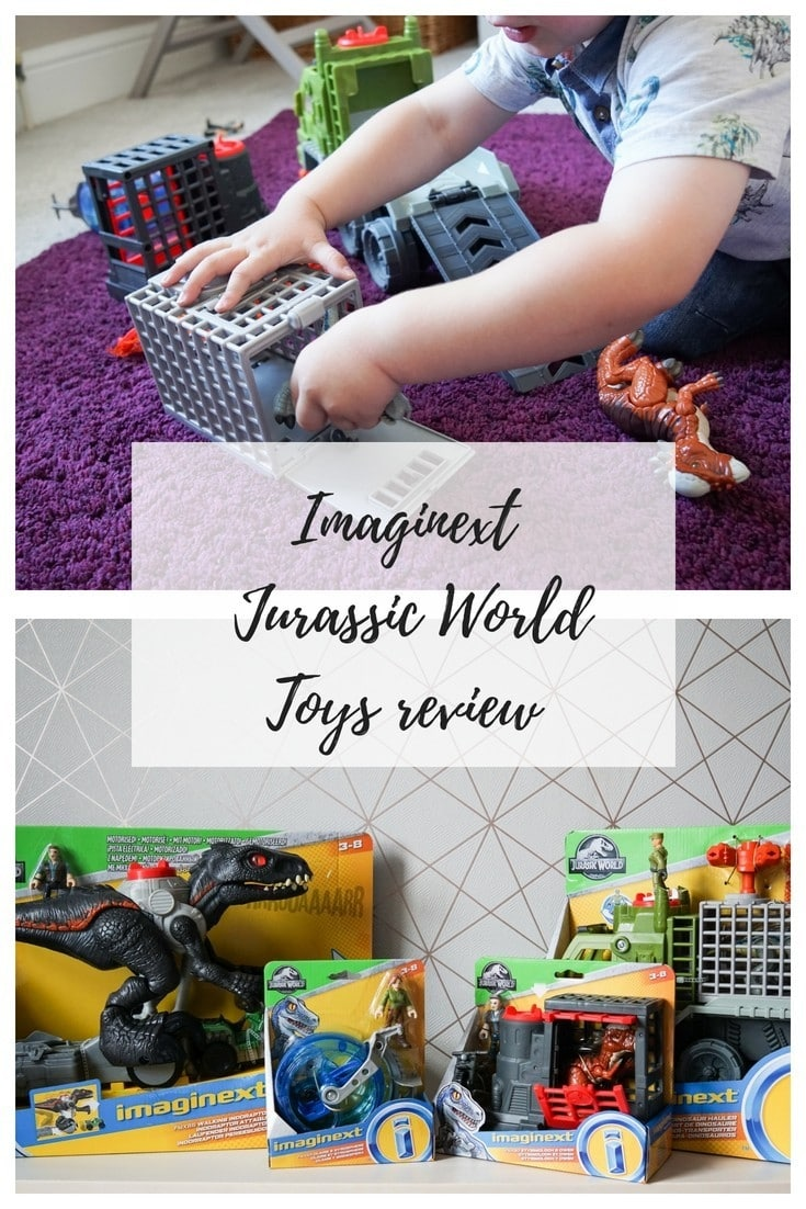 imaginext jurassic world toys review